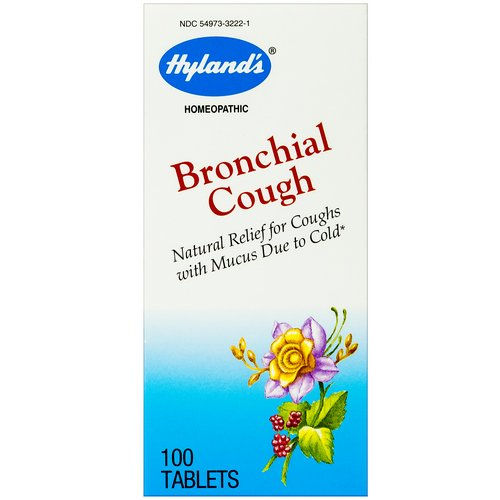 Hyland's, Bronchial Cough, 100 Tablets Review