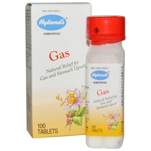 Hyland's, Gas, 100 Tablets Review