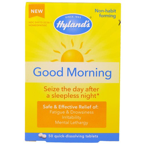 Hyland's, Good Morning, 50 Quick-Dissolving Tablets Review