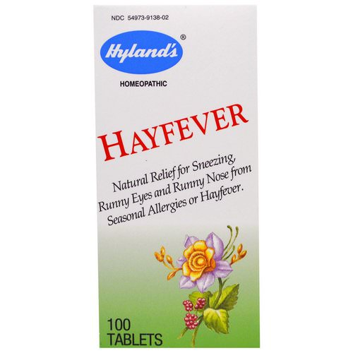 Hyland's, Hayfever, 100 Tablets Review