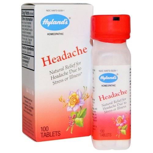 Hyland's, Headache, 100 Tablets Review