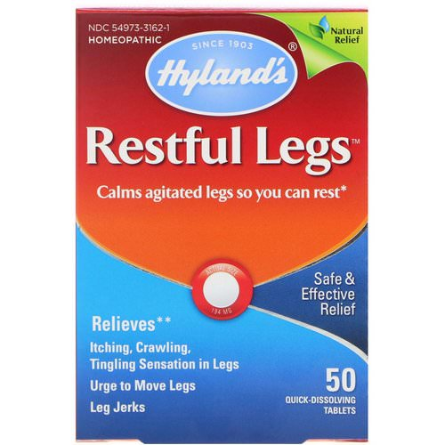 Hyland's, Restful Legs, 50 Quick-Dissolving Tablets Review