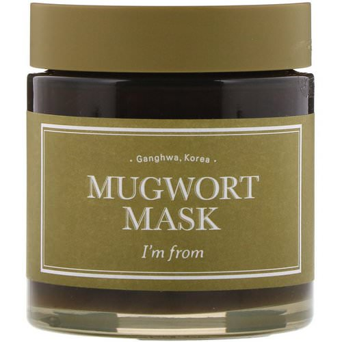 I'm From, Mugwort Mask, 3.88 fl oz (110 g) Review