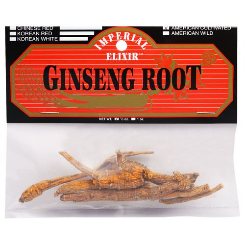 Imperial Elixir, Ginseng Root, American Cultivated, 1/2 oz Review