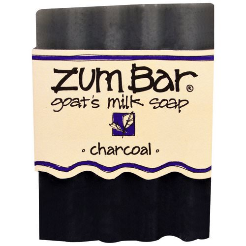 Indigo Wild, Zum Bar, Goat's Milk Soap, Charcoal, 1 Bar, 3 oz Review