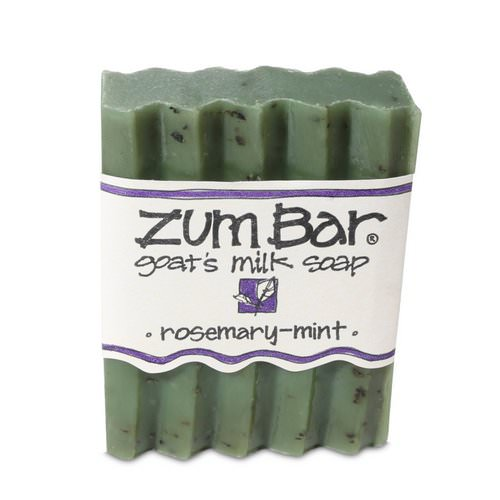 Indigo Wild, Zum Bar, Goat's Milk Soap, Rosemary-Mint, 3 oz Bar Review