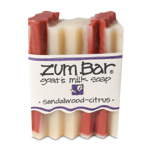 Indigo Wild, Zum Bar, Goat's Milk Soap, Sandalwood-Citrus, 3 oz Bar Review