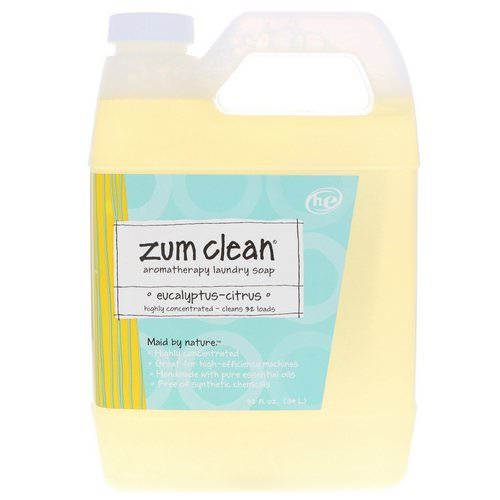 Indigo Wild, Zum Clean, Aromatherapy Laundry Soap, Eucalyptus-Citrus, 32 fl oz (.94 l) Review