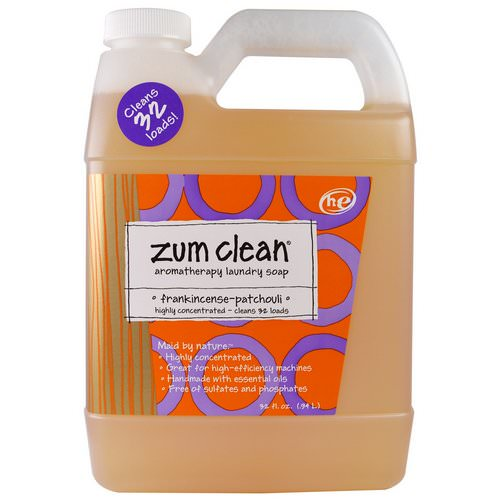 Indigo Wild, Zum Clean, Aromatherapy Laundry Soap, Frankincense & Patchouli, 32 fl oz Review