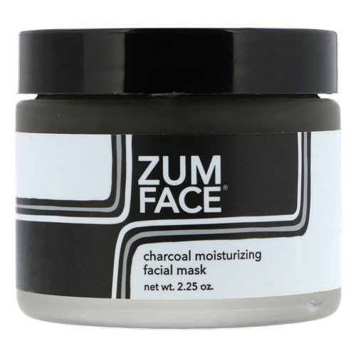Indigo Wild, Zum Face, Charcoal Moisturizing Facial Mask, 2.25 oz Review