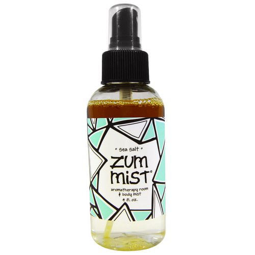 Indigo Wild, Zum Mist, Aromatherapy Room & Body Mist, Sea Salt, 4 fl oz Review