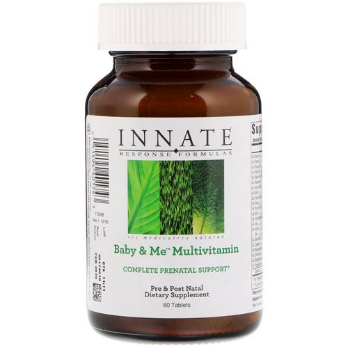 Innate Response Formulas, Baby & Me Multivitamin, 60 Tablets Review