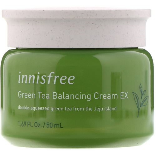Innisfree, Green Tea Balancing Cream EX, 1.69 oz (50 ml) Review