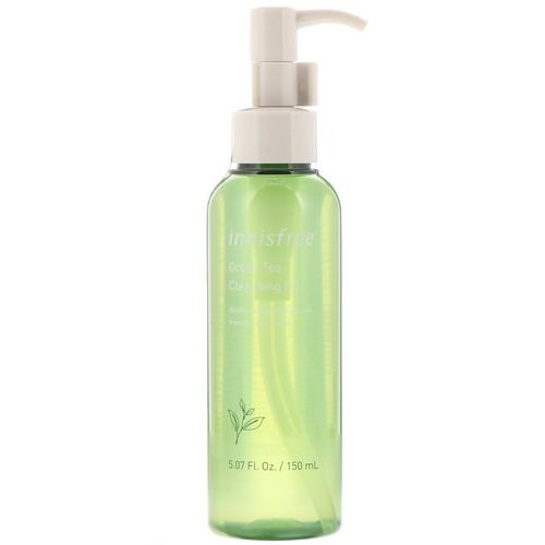 Innisfree, Green Tea Cleansing Oil, 150 ml Review
