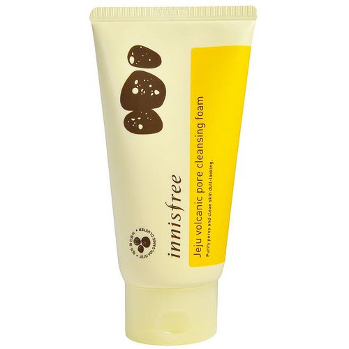 Innisfree, Jeju Volcanic Pore Cleansing Foam, 150 ml Review