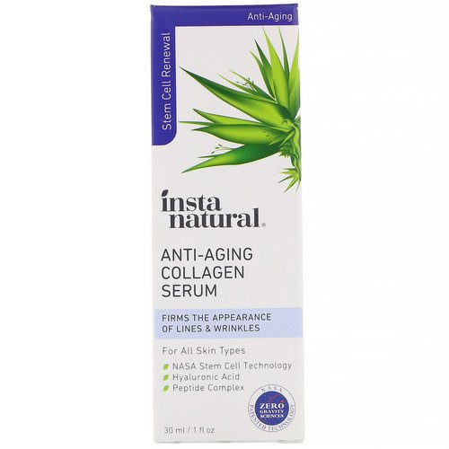 InstaNatural, Anti-Aging Collagen Serum, 1 fl oz (30 ml) Review
