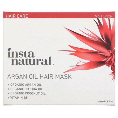 InstaNatural, Argan Oil Hair Mask, 8 fl oz (240 ml) Review