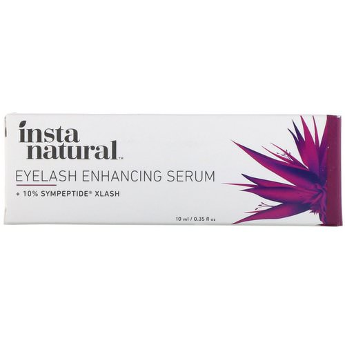InstaNatural, Eyelash Enhancing Serum, 0.35 fl oz (10 ml) Review