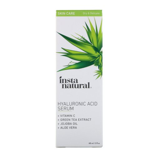 InstaNatural, Hyaluronic Acid Serum with Vitamin C, 2 fl oz (60 ml) Review