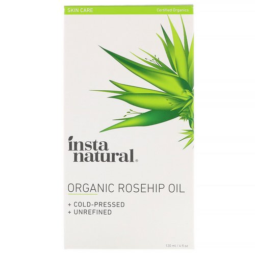 InstaNatural, Organic Rosehip Oil, 4 fl oz (120 ml) Review