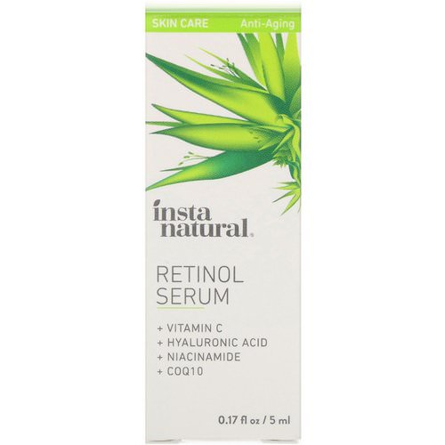 InstaNatural, Retinol Serum, Anti-Aging, 0.17 fl oz (5 ml) Review