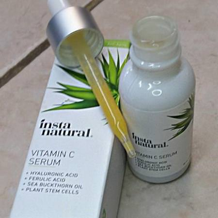 InstaNatural Beauty Treatments Serums