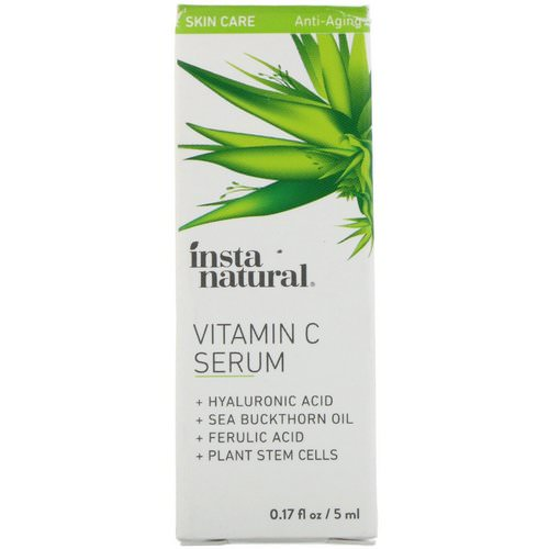 InstaNatural, Vitamin C Serum, Anti-Aging, 0.17 fl oz (5 ml) Review