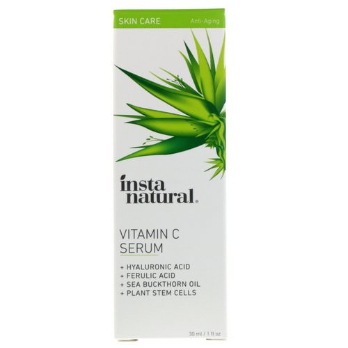 InstaNatural, Vitamin C Serum, Anti-Aging, 1 fl oz (30 ml) Review