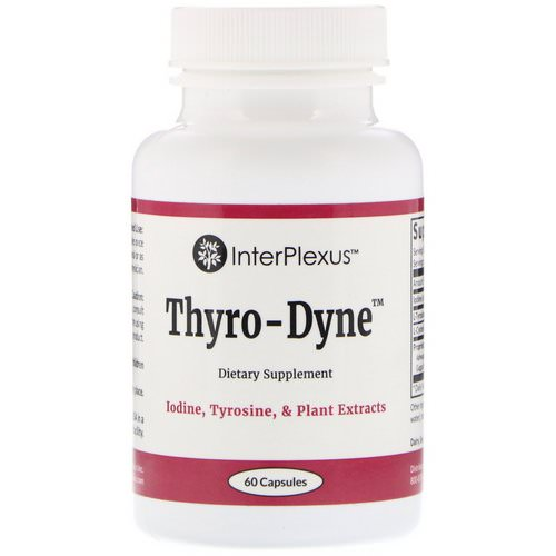 InterPlexus, Thyro-Dyne, 60 Capsules Review