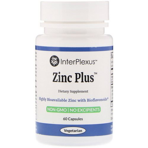 InterPlexus, Zinc Plus, 60 Capsules Review