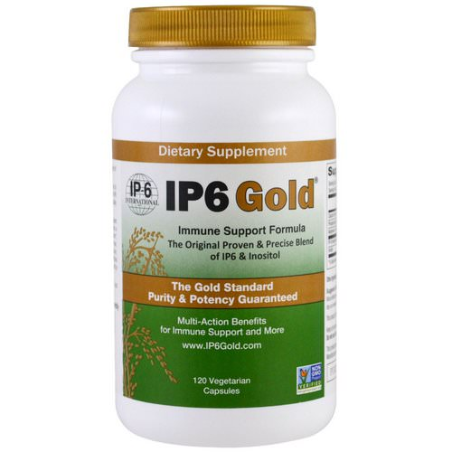 IP-6 International, IP6 Gold, Immune Support Formula, 120 Vegetarian Capsules Review
