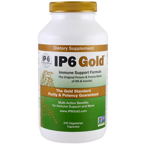 IP-6 International, IP6 Gold, Immune Support Formula, 240 Vegetarian Capsules Review