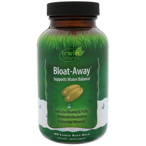 Irwin Naturals, Bloat-Away, 60 Liquid Soft-Gels Review