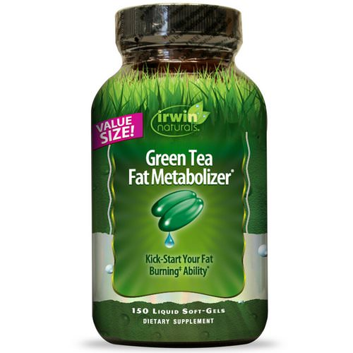 Irwin Naturals, Green Tea Fat Metabolizer, 150 Liquid Soft Gels Review