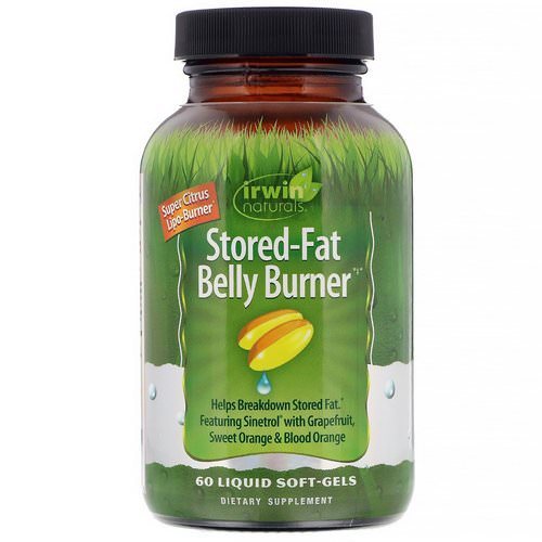 Irwin Naturals, Stored-Fat Belly Burner, 60 Liquid Soft-Gels Review