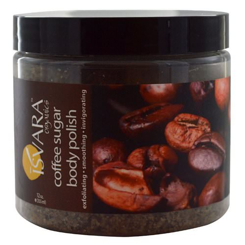 Isvara Organics, Coffee Sugar Body Polish, 12 oz (355 ml) Review