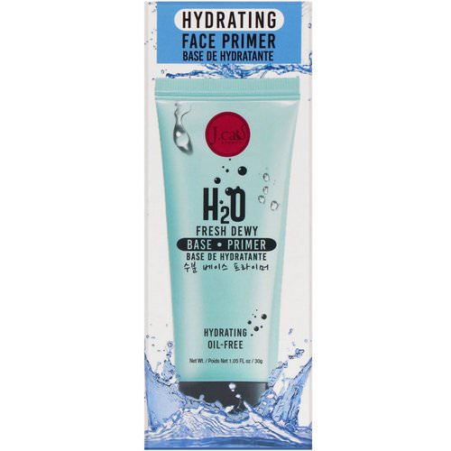 J.Cat Beauty, H2O Fresh Dewy Hydrating Face Primer, 1.05 fl oz (30 g) Review