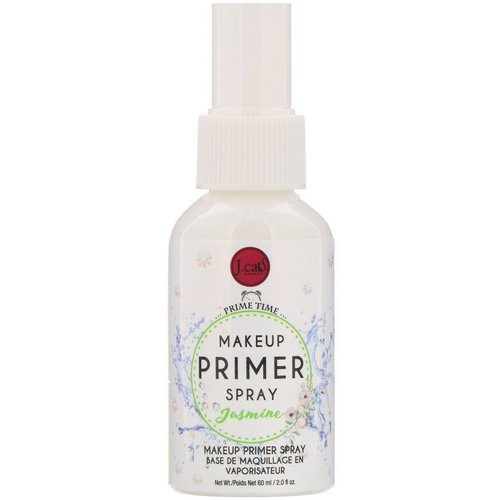 J.Cat Beauty, Makeup Primer Spray, PS102 Jasmine, 2 fl oz (60 ml) Review