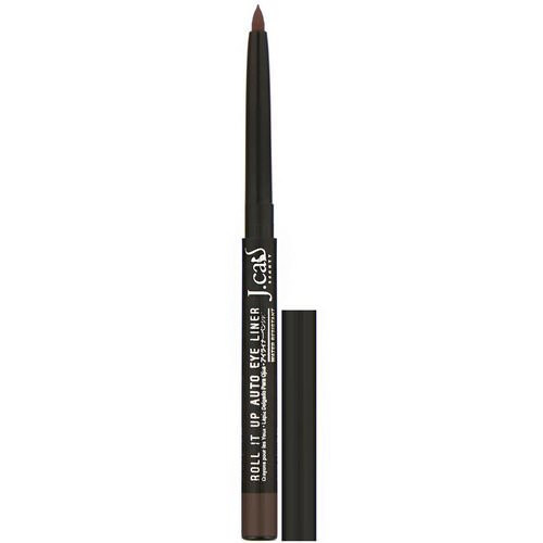 J.Cat Beauty, Roll It Up, Auto Eye Liner, RAE107 Brown, 0.01 oz (0.3 g) Review