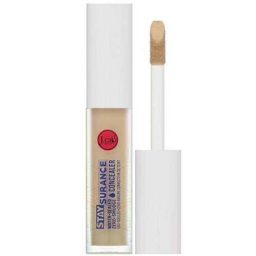J.Cat Beauty, Staysurance, Water-Sealed Zero-Smudge Concealer, SHC109 Soft Tan, 0.16 fl oz (4.8 ml) Review