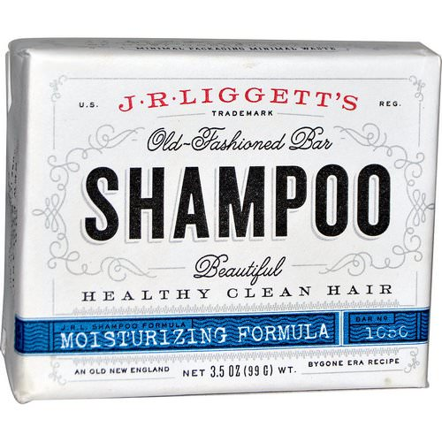 J.R. Liggett's, Old-Fashioned Bar Shampoo, Moisturizing Formula, 3.5 oz (99 g) Review