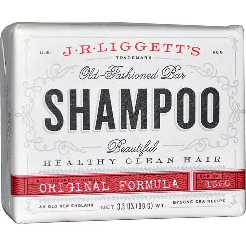 J.R. Liggett's, Old-Fashioned Bar Shampoo, Original Formula, 3.5 oz (99 g) Review