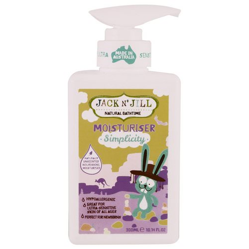 Jack n' Jill, Natural Bathtime, Moisturizer, Simplicity, 10.14 fl oz (300 ml) Review