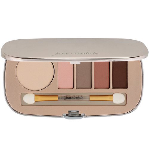 Jane Iredale, Eye Shadow Kit, Naturally Matte, 0.34 oz (9.6 g) Review