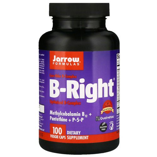 Jarrow Formulas, B-Right, 100 Veggie Caps Review