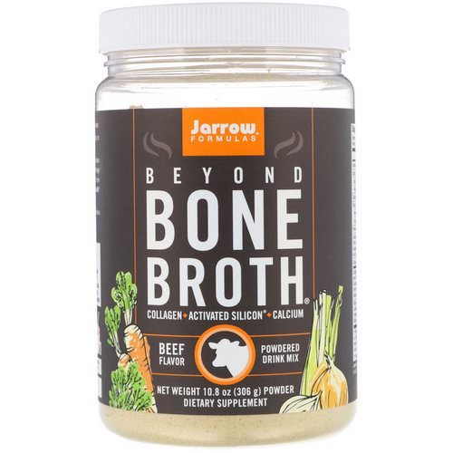 Jarrow Formulas, Beyond Bone Broth, Beef Flavor, 10.8 oz (306 g) Review