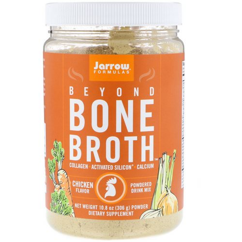 Jarrow Formulas, Beyond Bone Broth, Chicken Flavor, 10.8 oz (306 g) Review