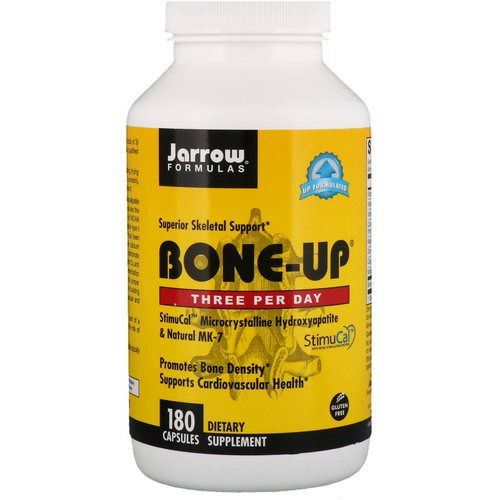 Jarrow Formulas, Bone-Up, 180 Capsules Review