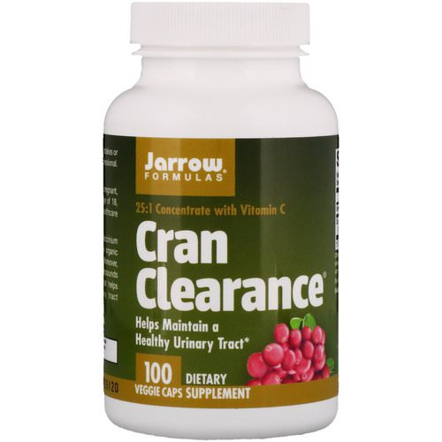 Jarrow Formulas, Cran Clearance, 100 Veggie Caps Review
