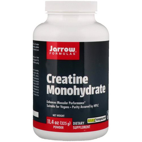Jarrow Formulas, Creatine Monohydrate Powder, 11.4 oz (325 g) Review